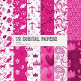 Scrapbook Paper Abstract Kit Queen Pack Scrapbooking Sprin