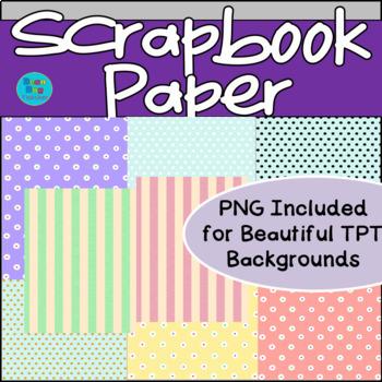 Scrapbook Paper/ Background