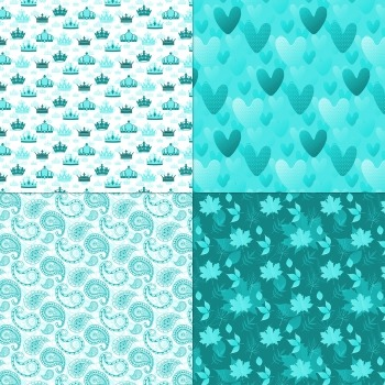 Scrapbook Paper Celebration Nautical Love Piecing Pussycat Collag Premade Anchor