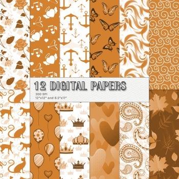 Scrapbook Paper Celebration Page 12 X 12 8 5 X 11 Happy Pi