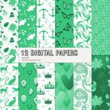 Scrapbook Paper Circle Fabric Rose Greeting Silhouette Jpe