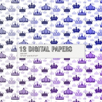 Scrapbook Paper Clipart Set Piecing Jpg Cover Book Pack Emperor Event Decoration
