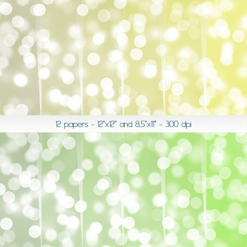 Scrapbook Paper Digital Blur Background Template Journal S