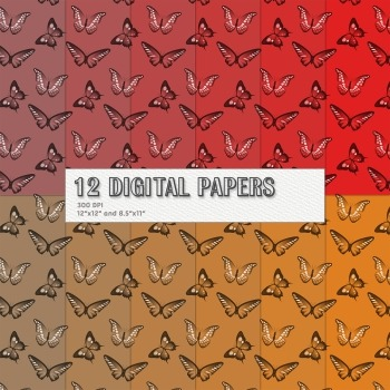Scrapbook Paper Digital Decorative Nature Animals Scrapbook Making Jpg Seamless