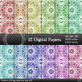 Scrapbook Paper Embellishment Clipart Album Page Lot Scrap
