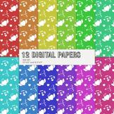 Scrapbook Paper Flower Scrapbook Journal Clipart Bird Set Celebrate Scrap Book