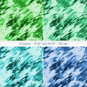 Scrapbook Paper Graphics Template Art Scrap Booking Bleed Wash Texture Sheet Lot
