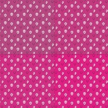 Scrapbook Paper Greeting Pattern Supplie Template Art Premade Decoration Balloon