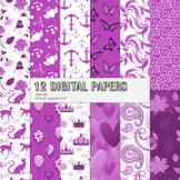 Scrapbook Paper Heart Cake Vegetation Journal Sailor Floral Paper Ornate Cute A4