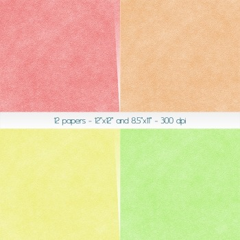 Scrapbook Paper Lot Collag Leather Art 12 X 12 8 5 X 11 Page Seamless Bumpy Look