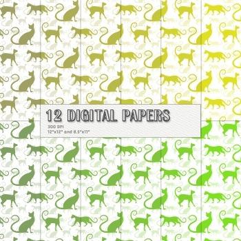 Scrapbook Paper Pack Art Making Page Instant Download Scrapbook Decoration Set