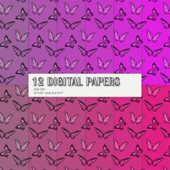 Scrapbook Paper Printable Background 12 X 12 8 5 X 11 Spring Holiday