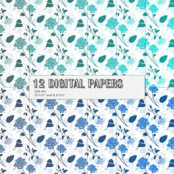 Scrapbook Paper Scrap Book 12x12 + 8.5x11 Inch 12 X 12 8 5