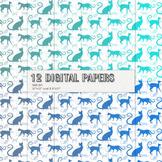 Scrapbook Paper Scrap Booking Embellishment Mammal Seamles