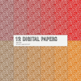 Scrapbook Paper Scrapbooking Jpg Instant Download Decorati