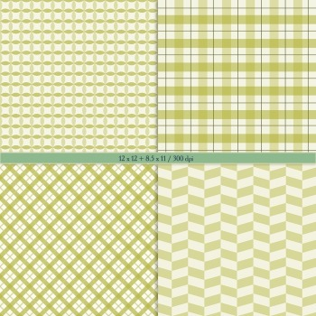 Scrapbook Paper Template Scrap Booking Repetition Pattern Circle Party Geometric