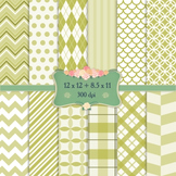 Scrapbook Paper Template Scrap Booking Repetition Pattern