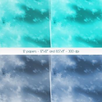Scrapbook Paper Texture Scrapbook 12 X 12 8 5 X 11 Skies Sky Decoration Supplie