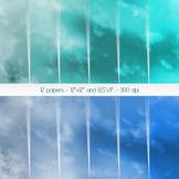 Scrapbook Paper Texture Scrapbook 12 X 12 8 5 X 11 Skies S