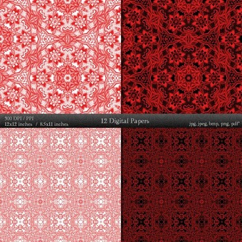Scrapbook Premade Variety Sheet Abstract Scrapbooking Vintage Texture Collag A4