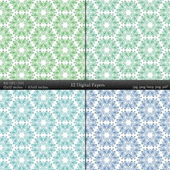 Scrapbook Scrap Booking Ornate Texture Digital Scrapbooking Jpg Decorative A4
