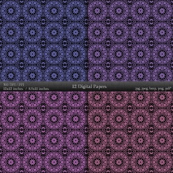 Scrapbook Sheet Scrap Book  12 X 12 + 8.5 X 11 Cover Jpg Scrapbook Making Damask