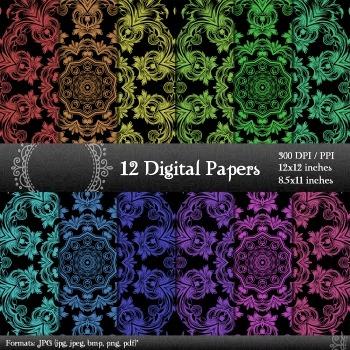 Scrapbook Sheet Scrapbook Album Making Digital Book Kit Lot Jpg Scrapbooking A4