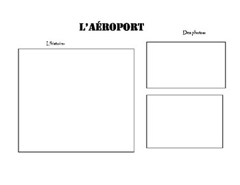 Scrapbook Template for a Trip to France