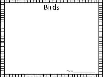 Scrapbook Templates for Students (10 Different Topics)