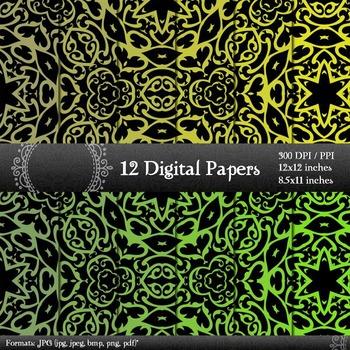 Scrapbook Variety Making Album Lot Decorative Supplie Retro Journal Corner A4