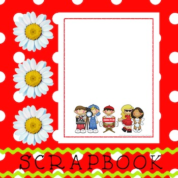Scrapbook - Yearbook Cover Page: Director's Cut