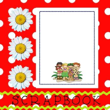 Scrapbook - Yearbook Cover Page: Hawaiian Kids