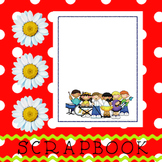 Scrapbook - Yearbook Cover Page: Musical Kids