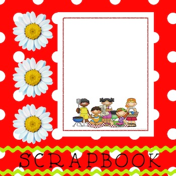 Scrapbook - Yearbook Cover Page: Picnic Pals