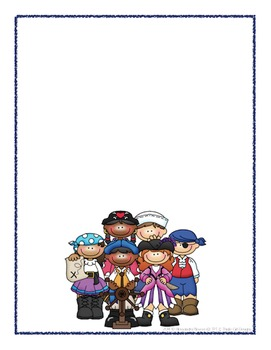 Scrapbook - Yearbook Cover Page: Pirates