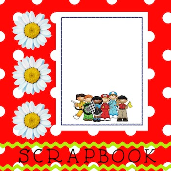 Scrapbook - Yearbook Cover Page: Pit Crew