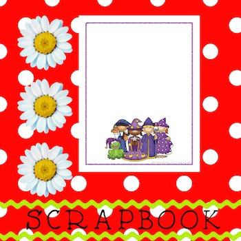 Scrapbook - Yearbook Cover Page: Wizard Kids