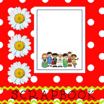 Scrapbook - Yearbook Cover Page: World's Kids
