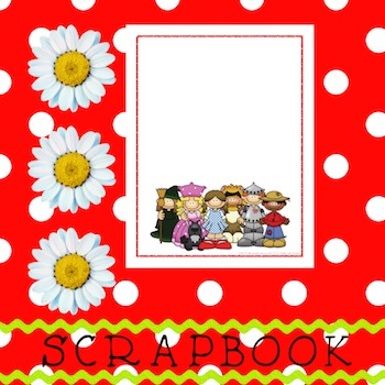 Scrapbook - Yearbook Cover Page: Yellow Brick Road