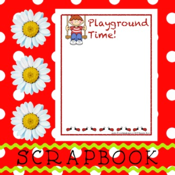 Scrapbook - Yearbook Page: At the Playground