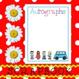 Scrapbook - Yearbook Page: Autographs