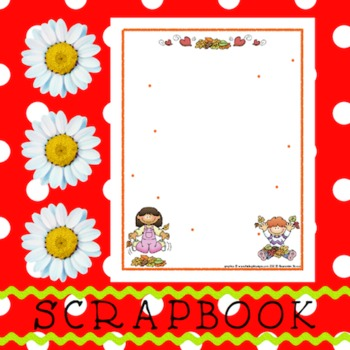 Scrapbook - Yearbook Page: Autumn 3