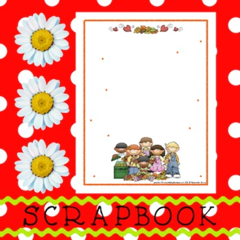 Scrapbook - Yearbook Page: Autumn 4