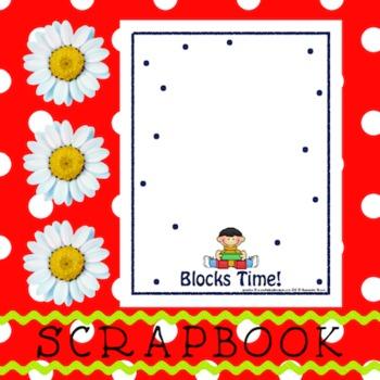 Scrapbook - Yearbook Page: Blocks