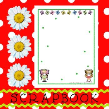 Scrapbook - Yearbook Page: Butterflies 2