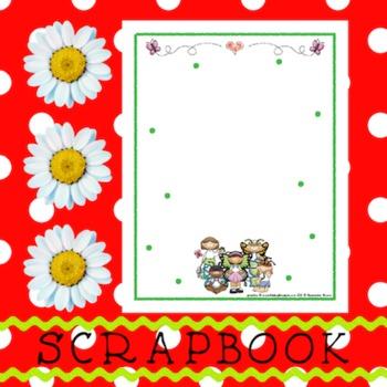 Scrapbook - Yearbook Page: Butterflies 3