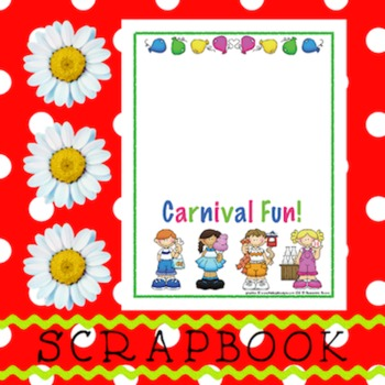 Scrapbook - Yearbook Page: Carnival 1