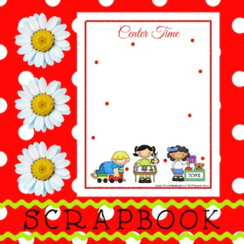 Scrapbook - Yearbook Page: Centers 2