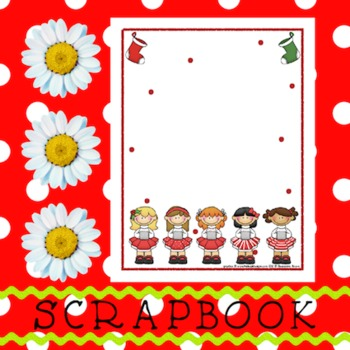 Scrapbook - Yearbook Page: Christmas 4 Christmas Girls