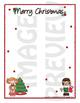 Scrapbook - Yearbook Page: Christmas 5 Girls Decorating Christmas Tree